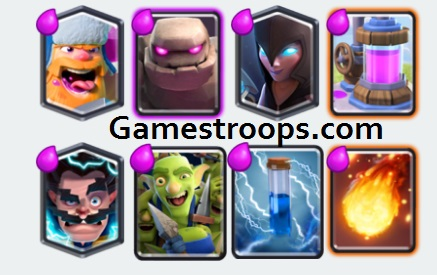 Golem Night Witch Decks