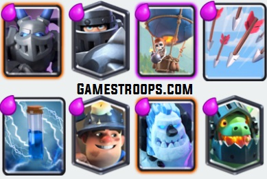 Mega Knight Balloon Inferno Dragon Deck 2018 Arena 9+