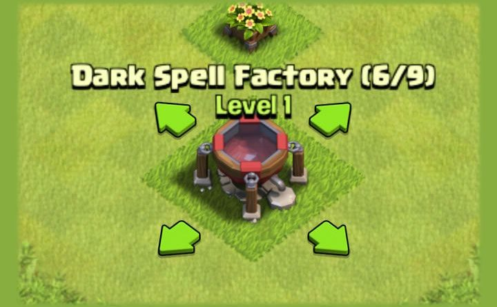 دارک اسپل فکتوری Dark Spell Factory
