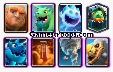 Gaint Electro Dragon Deck Arena 11+