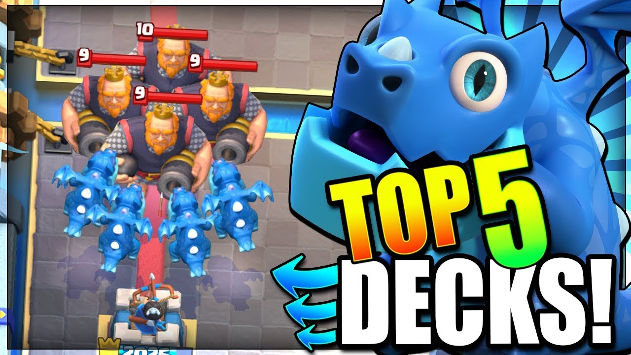 2019 BEST ELECTRO DRAGON DECK