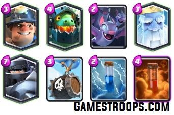 Mega Knight Royal Ghost Deck